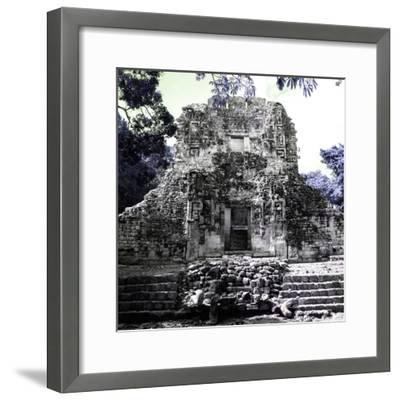 ¡Viva Mexico! Square Collection - Mayan Ruins of Campeche IV-Philippe Hugonnard-Framed Photographic Print
