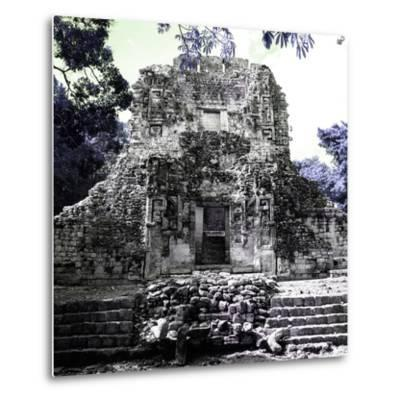 ¡Viva Mexico! Square Collection - Mayan Ruins of Campeche IV-Philippe Hugonnard-Metal Print