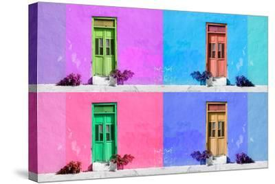 ?Viva Mexico! Collection - Wall Color III - Campeche-Philippe Hugonnard-Stretched Canvas Print