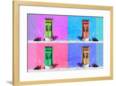 ?Viva Mexico! Collection - Wall Color III - Campeche-Philippe Hugonnard-Framed Photographic Print
