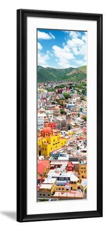 ¡Viva Mexico! Panoramic Collection - Guanajuato Colorful Cityscape V-Philippe Hugonnard-Framed Photographic Print