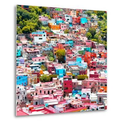 ¡Viva Mexico! Square Collection - Colorful Guanajuato VII-Philippe Hugonnard-Metal Print