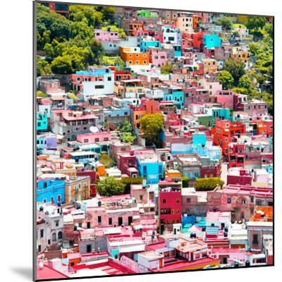 ¡Viva Mexico! Square Collection - Colorful Guanajuato VII-Philippe Hugonnard-Mounted Photographic Print