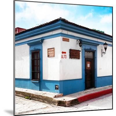 ¡Viva Mexico! Square Collection - Street Scene in San Cristobal de Las Casas III-Philippe Hugonnard-Mounted Photographic Print