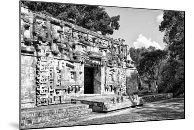¡Viva Mexico! B&W Collection - Hochob Mayan Pyramids III - Campeche-Philippe Hugonnard-Mounted Photographic Print