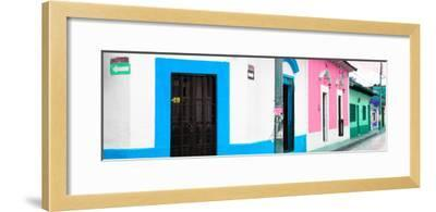 ¡Viva Mexico! Panoramic Collection - Colorful Street II-Philippe Hugonnard-Framed Photographic Print
