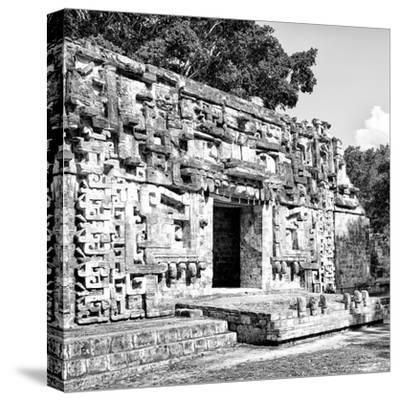 ¡Viva Mexico! Square Collection - Hochob Mayan Pyramids of Campeche V-Philippe Hugonnard-Stretched Canvas Print