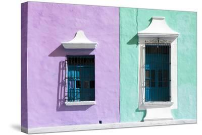 ?Viva Mexico! Collection - Colors Houses in Campeche VI-Philippe Hugonnard-Stretched Canvas Print
