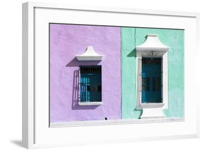 ?Viva Mexico! Collection - Colors Houses in Campeche VI-Philippe Hugonnard-Framed Photographic Print
