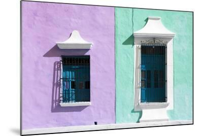 ?Viva Mexico! Collection - Colors Houses in Campeche VI-Philippe Hugonnard-Mounted Photographic Print