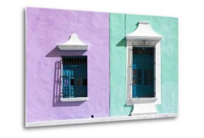 ?Viva Mexico! Collection - Colors Houses in Campeche VI-Philippe Hugonnard-Metal Print