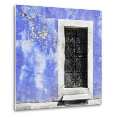 ¡Viva Mexico! Square Collection - Purple Wall of Silence-Philippe Hugonnard-Metal Print