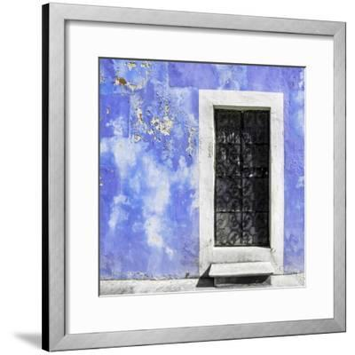 ¡Viva Mexico! Square Collection - Purple Wall of Silence-Philippe Hugonnard-Framed Photographic Print