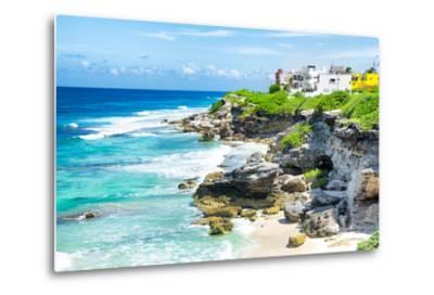 ¡Viva Mexico! Collection - Isla Mujeres Coastline-Philippe Hugonnard-Metal Print
