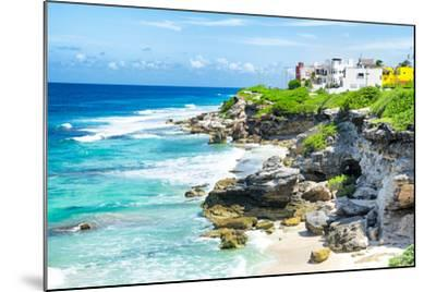 ¡Viva Mexico! Collection - Isla Mujeres Coastline-Philippe Hugonnard-Mounted Photographic Print