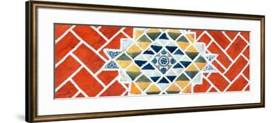 ¡Viva Mexico! Panoramic Collection - Red Mosaics-Philippe Hugonnard-Framed Photographic Print
