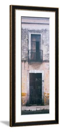 ¡Viva Mexico! Panoramic Collection - Old Mexican Facade III-Philippe Hugonnard-Framed Photographic Print