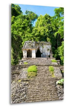 ?Viva Mexico! Collection - Mayan Ruins in the Forest-Philippe Hugonnard-Metal Print