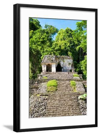 ?Viva Mexico! Collection - Mayan Ruins in the Forest-Philippe Hugonnard-Framed Photographic Print