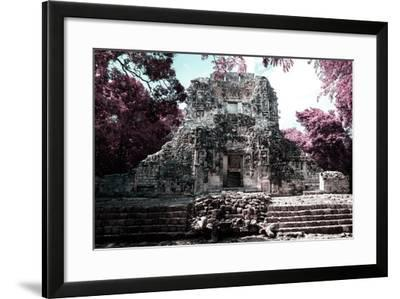 ?Viva Mexico! Collection - Mayan Ruins - Campeche II-Philippe Hugonnard-Framed Photographic Print