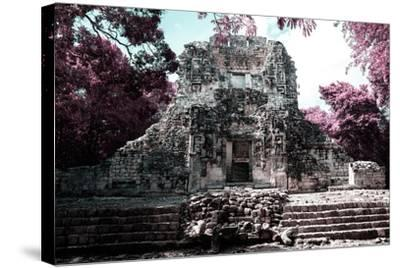 ?Viva Mexico! Collection - Mayan Ruins - Campeche II-Philippe Hugonnard-Stretched Canvas Print