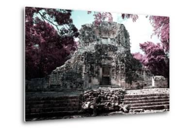 ?Viva Mexico! Collection - Mayan Ruins - Campeche II-Philippe Hugonnard-Metal Print