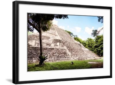 ?Viva Mexico! Collection - Mayan Pyramid II-Philippe Hugonnard-Framed Photographic Print