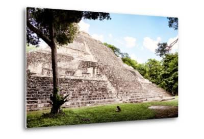 ?Viva Mexico! Collection - Mayan Pyramid II-Philippe Hugonnard-Metal Print