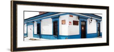 ¡Viva Mexico! Panoramic Collection - Street Scene San Cristobal de Las Casas III-Philippe Hugonnard-Framed Photographic Print