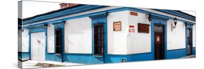 ¡Viva Mexico! Panoramic Collection - Street Scene San Cristobal de Las Casas III-Philippe Hugonnard-Stretched Canvas Print