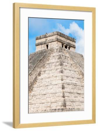 ?Viva Mexico! Collection - Chichen Itza Pyramid II-Philippe Hugonnard-Framed Photographic Print