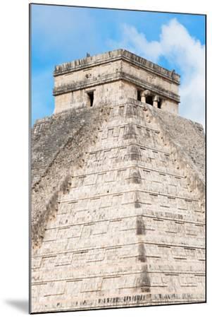 ?Viva Mexico! Collection - Chichen Itza Pyramid II-Philippe Hugonnard-Mounted Photographic Print