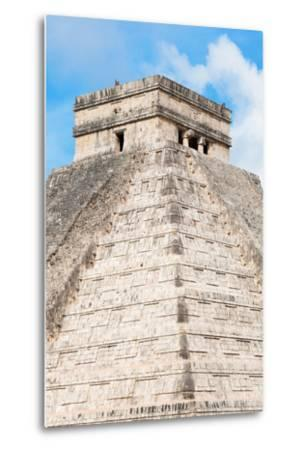 ?Viva Mexico! Collection - Chichen Itza Pyramid II-Philippe Hugonnard-Metal Print