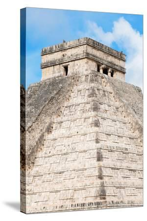 ?Viva Mexico! Collection - Chichen Itza Pyramid II-Philippe Hugonnard-Stretched Canvas Print