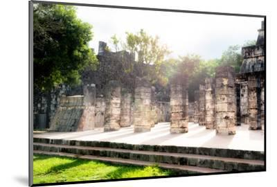 ¡Viva Mexico! Collection - One Thousand Mayan Columns III - Chichen Itza-Philippe Hugonnard-Mounted Photographic Print