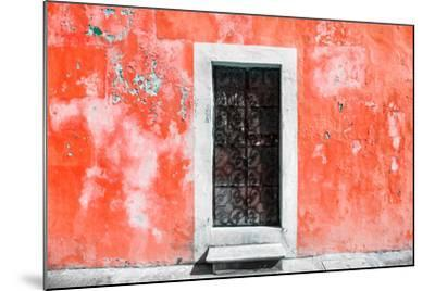 ?Viva Mexico! Collection - Red Wall of Silence-Philippe Hugonnard-Mounted Photographic Print