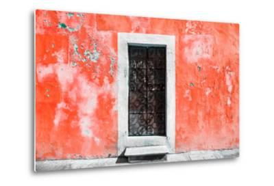 ?Viva Mexico! Collection - Red Wall of Silence-Philippe Hugonnard-Metal Print