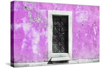 ?Viva Mexico! Collection - Pink Wall of Silence-Philippe Hugonnard-Stretched Canvas Print