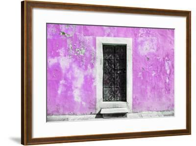 ?Viva Mexico! Collection - Pink Wall of Silence-Philippe Hugonnard-Framed Photographic Print