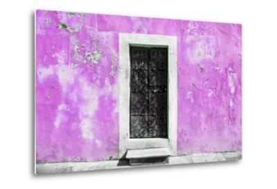 ?Viva Mexico! Collection - Pink Wall of Silence-Philippe Hugonnard-Metal Print