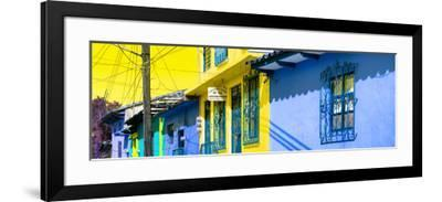 ¡Viva Mexico! Panoramic Collection - Colorful Houses in San Cristobal V-Philippe Hugonnard-Framed Photographic Print
