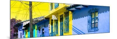 ¡Viva Mexico! Panoramic Collection - Colorful Houses in San Cristobal V-Philippe Hugonnard-Mounted Photographic Print