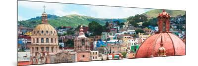 ¡Viva Mexico! Panoramic Collection - Guanajuato Church Domes I-Philippe Hugonnard-Mounted Photographic Print