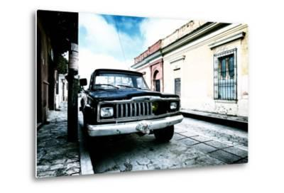 ¡Viva Mexico! Collection - Black Jeep and Colorful Street III-Philippe Hugonnard-Metal Print