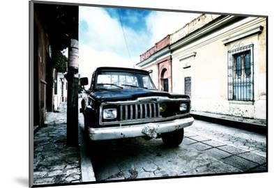 ¡Viva Mexico! Collection - Black Jeep and Colorful Street III-Philippe Hugonnard-Mounted Photographic Print