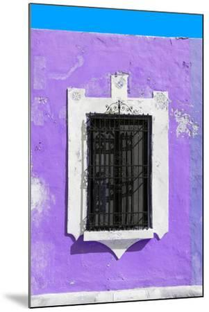 ?Viva Mexico! Collection - Purple Window - Campeche-Philippe Hugonnard-Mounted Photographic Print