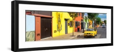 ¡Viva Mexico! Panoramic Collection - Colorful Mexican Street-Philippe Hugonnard-Framed Photographic Print