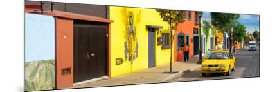 ¡Viva Mexico! Panoramic Collection - Colorful Mexican Street-Philippe Hugonnard-Mounted Photographic Print