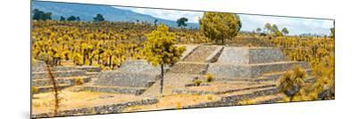 ¡Viva Mexico! Panoramic Collection - Pyramid of Cantona - Puebla VI-Philippe Hugonnard-Mounted Photographic Print