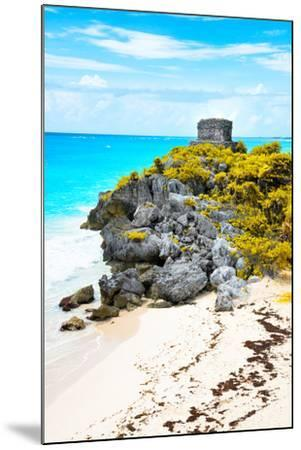 ?Viva Mexico! Collection - Tulum Ruins along Caribbean Coastline IX-Philippe Hugonnard-Mounted Photographic Print
